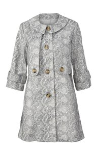 CAbi Animalprint Trench Coat