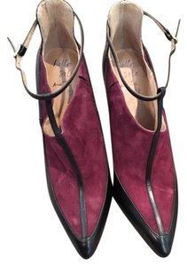 Banana Republic Black and burgundy Pumps