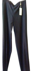 Gianfranco Ferre Wide Leg Pants Grey striped