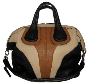 Givenchy Nightingale Medium Nightingale Goat Skin Tote in Tricolor