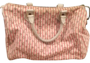 Louis Vuitton Satchel in White And Pink