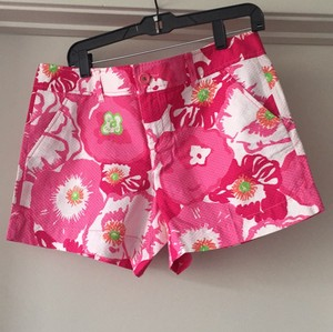 Lilly Pulitzer Mini/Short Shorts Pink multi