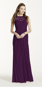 David's Bridal Plum (dark Purple) F15749 Dress