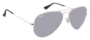 Ray-Ban Silver Mirror RB3025 Aviator Silver Frame Sunglasses W3277