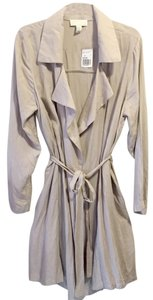 Forever 21 Trench Light Spring Tan Jacket