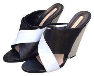 Narciso Rodriguez Black/white Wedges