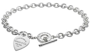 Tiffany & Co. Tiffany and Co. Heart Tag Toggle Necklace