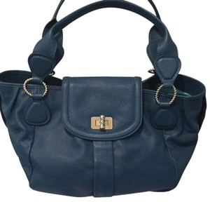Tiffany & Co. Satchel in Pond blue