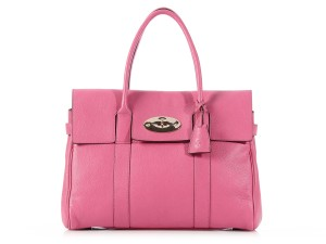 Mulberry Pink Ml.k0817.07 Chevre Leather Tote