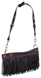 Maxx New York Leather Fringe Shoulder Bag