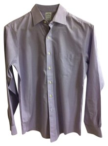 Brooks Brothers Button Down Button Down Shirt Lavender