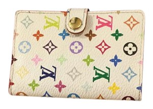 Louis Vuitton Multicolor Mini Agenda Cover Carnet de Bal Blanc (White)