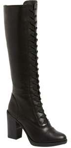 Steve Madden Nidea Knee High Black Boots