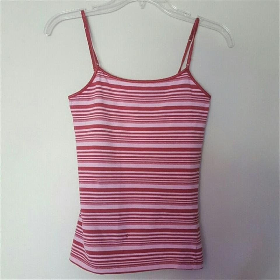 c857a7ff0afe24 Aéropostale Red Striped Tank Top Cami Size 4 (S) - Tradesy