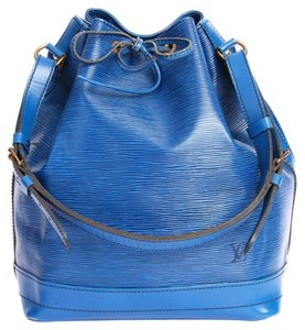 Louis Vuitton Hobo Tote in Blue