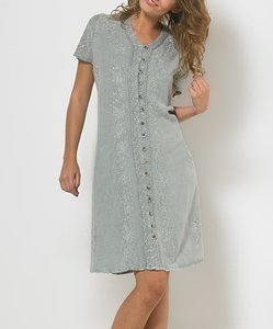 COLINE USA short dress SAGE GREEN on Tradesy