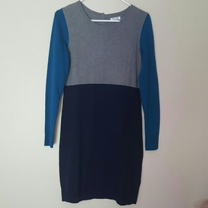 Old Navy short dress Blue, Teal, Gray Winter on Tradesy