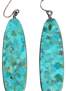 Other natural turquoise earrings