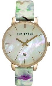 Ted Baker Round Floral Dial Watch
