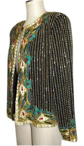 Niteline Sequins Beads Multicolor Jacket