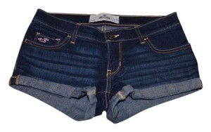 Hollister Summer Cut Off Shorts Blue