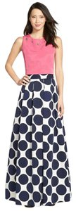 Eliza J Polka Dot Ball Gown Dress