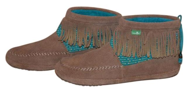 Item - Brown Suede Moccasin Boots/Booties Size US 8 Regular (M, B)
