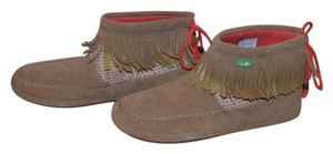 Sanuk Moccasin Suede Treny Fall brown Boots