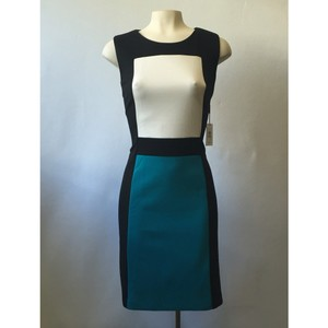 Calvin Klein Tri-color Dress