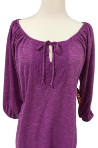 Faded Glory Top Fusia