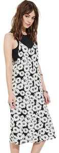 Black & cream Maxi Dress by Forever 21