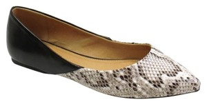 City Classified Snakeskin Flats