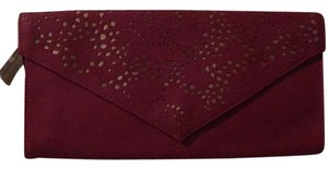 American Eagle Outfitters Maroon Clutch