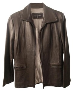 Gallery Leather Moto Zip Leather Jacket