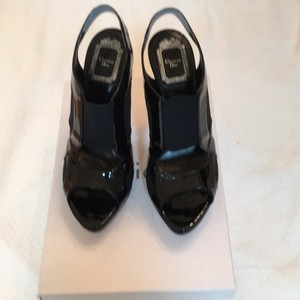 Dior Black patent Formal
