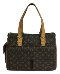 Louis Vuitton Lv Cite Monogram Multipli Canvas Shoulder Bag