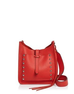 Rebecca Minkoff Red Nwt Leather 846632781982 Hobo Bag