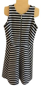 Michael Kors short dress Black and white stripe on Tradesy