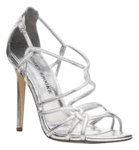 Audrey Brooke Silver Sandals