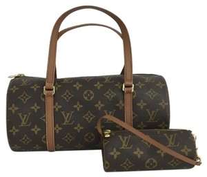 Louis Vuitton Lv Papillon Canvas 30 Satchel in Monogram