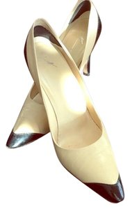 Giuseppe Zanotti Tan and black Pumps