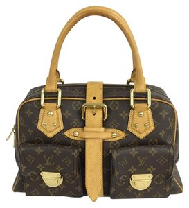 Louis Vuitton Lv Manhattan Gm Satchel in Monogram
