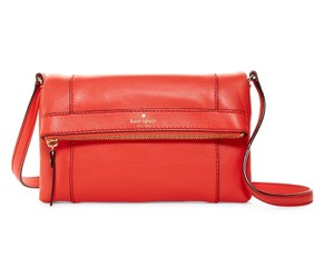 Kate Spade Fremont Place Julian Leather Soft Satchel in Maraschino