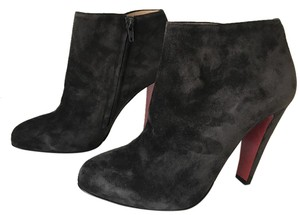 Christian Louboutin Bobsleigh Bootie Block Taupe Boots
