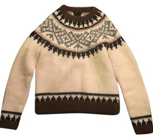 J.Crew Hand-knit Fair Isle Wool Sweater