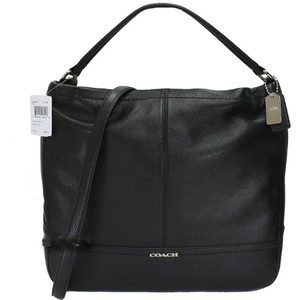 Coach Leather Laptop Messenger Hobo Bag