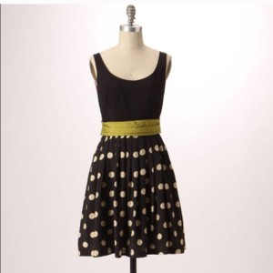 Anthropologie short dress Black & white on Tradesy