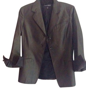 Anne Klein Grey/Brown Blazer