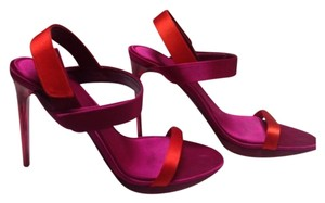 Burberry Red/Purple Sandals