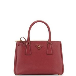 Prada Satchel in Wine